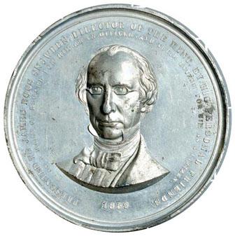James Ross Snowden, Direttore della Zecca dal 1853 al 1861, che per primo chiamò
