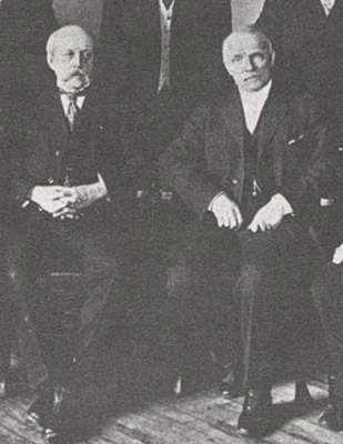 Charles Barber e George Morgan nel 1910
