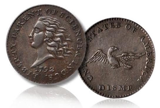 Disme 1792