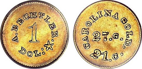Bechtler Gold Dollar