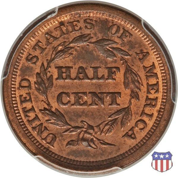 Braided Hair (1840-1857) 1851 (Philadelphia)